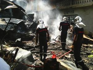 Incendie à Mandzarisoa
