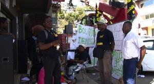 Une délégation des salariés d'Orange à la Réunion