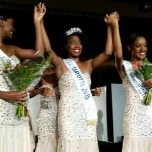 Ramatou Rajiabo de Poroani est Miss Mayotte 2015