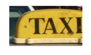 Opération de contrôle des taxis