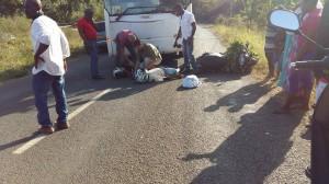 Accident : Un bus scolaire contre un scooter