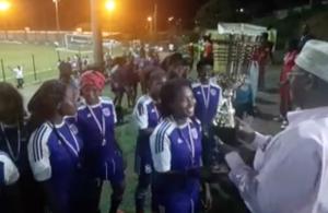 FOOT féminin : Les Jumelles de Mzouazia remportent la Coupe de Mayotte (vidéo)
