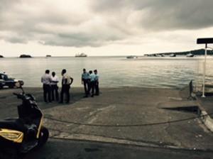 Aucune barge et amphidrome ne circule (photos)