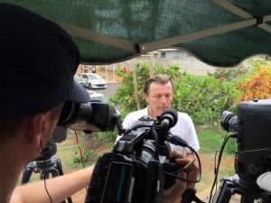 Samuel Boscher interviewé par M6 pour l'émission 66 minutes (photos)