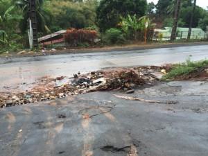 Après la pluie à Tsoundzou (photos et vidéo)