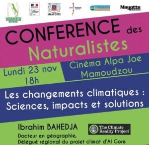 Conférences des Naturalistes, objectif COP21