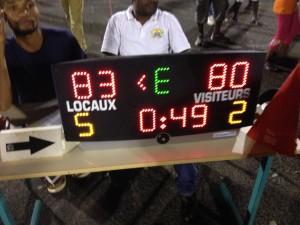 Basket masculin : victoire de TCO face à Vautour