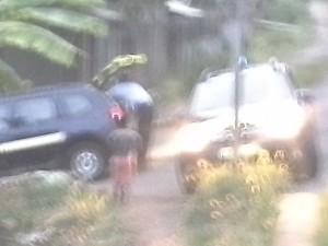 Début d'émeute à Nyambadao