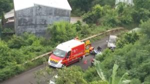 Accident de deux roues Route Sogea