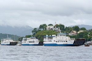Les barges sont à quai