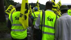 Les postiers Sud-PTT Mayotte poursuivent le mouvement