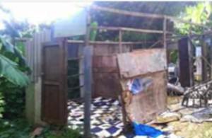 Bangas détruits à Poraoani : «les enfants pourront se rendre à l'école»