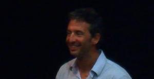 Pierre Frolla au cinéma Alpa Joe hier soir