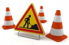 Fermeture à la circulation des routes départementales pour travaux