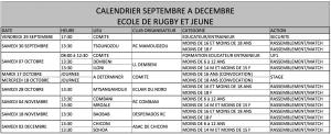calendrier rugby jeunes