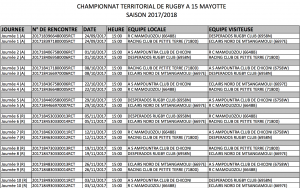 calendrier rugby matchs