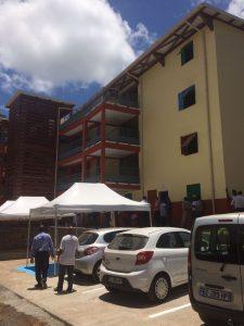Le premier bâtiment collectif inauguré à Poroani ce matin (photos)