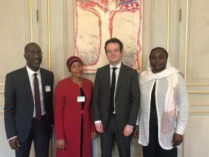 Le maire de Pamandzi et la députée Ramlati Ali, reçus au ministère de l'Education nationale