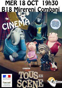 Ciné Musafiri: programme Cinéma du 18 au 21 Octobre