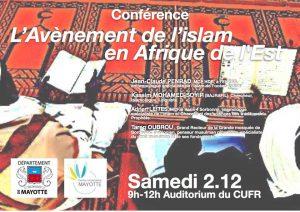 Conférence sur « L'Avènement de l'islam en Afrique de l'Est »