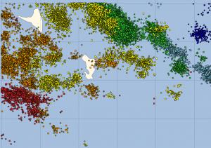 19000 impacts de foudre autour de Mayotte