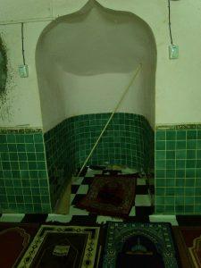 Une mosquée de Tsingoni profanée