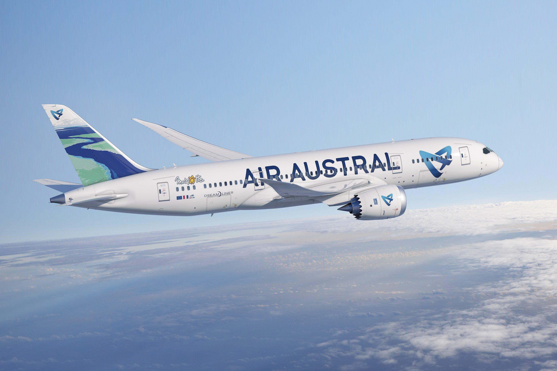 Encore quelques ajustements pour le mois d'août du côté d'air Austral