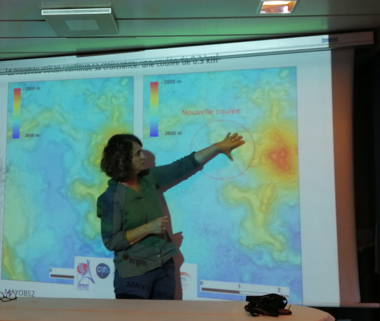 Une nouvelle coulée de lave découverte à l'ouest du volcan