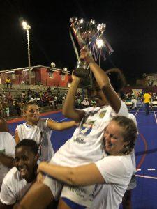 Les filles de Cavani remportent la super coupe 2019 de basketball