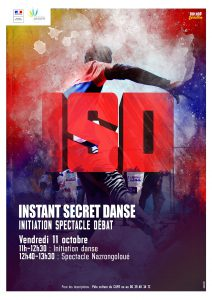 Un Instant Secret Danse / Initiation Spectacle Débat (ISD) à l'université pour se dire les choses