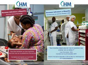 Ouverture des inscriptions aux concours infirmiers/ières et auxiliaires de puériculture
