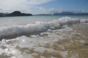 ilot de sable blanc du sud vers sazilé
