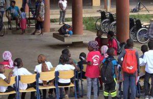 L'école Sada 4 accueillait hier des ateliers autour du handicap
