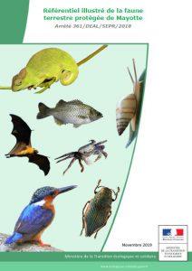 La DEAL de Mayotte vient de publier une mise à jour de son référentiel des espèces protégées