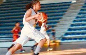 Maé Brouste, 13 ans et déjà dans la liste des espoirs de haut niveau en basketball
