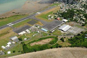 Aéroport Lavalin de Mayotte en aérien