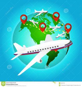 avion monde