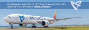 Air Austral enrichit ses mesures commerciales pour plus de flexibilité