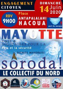 Le collectif des citoyens de Mayotte se mobilise contre l'insécurité