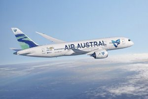 Message à destination des passagers du prochain vol pour la Réunion