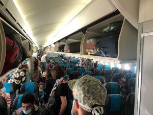 Décollage du vol direct Paris Dzaoudzi de La Réunion dans quelques minutes