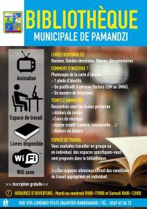 La Bibliothèque Municipale de Pamandzi rouvre ses portes