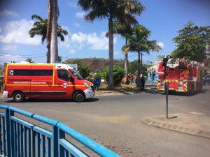 Les pompiers déclenchaient une nouvelle action coup de poing hier à Mamoudzou