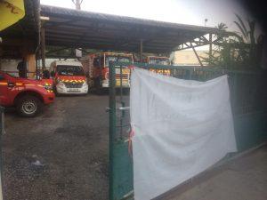 Des conditions de vie alarmantes dans les casernes des pompiers de Mayotte