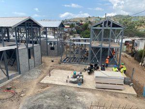 Le chantier RHI de Majicavo-Koropa progresse rapidement