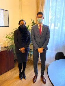 Aminat Hariti au ministère de l'Outre-Mer pour évoquer la question de l'eau