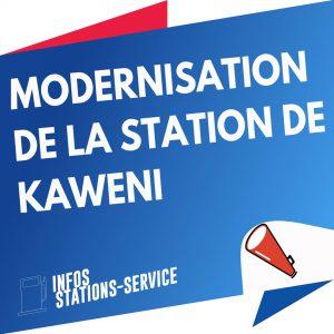 Fonctionnement de la  boutique de la station de Kawéni perturbé
