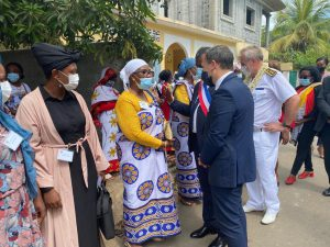 2 inaugurations points d'orgue d'une visite officielle