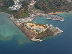 Rénovation du quai 1 de Longoni en prévision du projet gazier au Mozambique