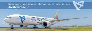 Air Austral annonce la reprise de ses vols de et vers Nosy Be
